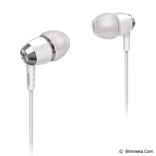 PHILIPS In -Ear Headphones [SHE 7000] - White - Earphone Ear Monitor / Iem